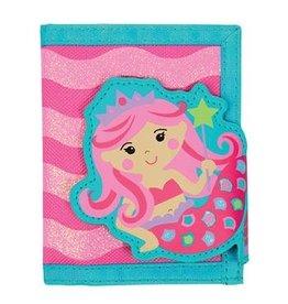 Stephen Joseph Mermaid Wallet in Pink