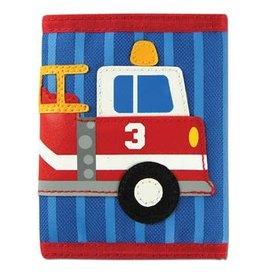 Stephen Joseph Fire Truck Wallet in Blue