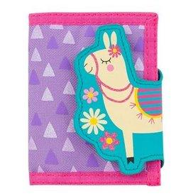 Stephen Joseph Llama Wallet in Purple