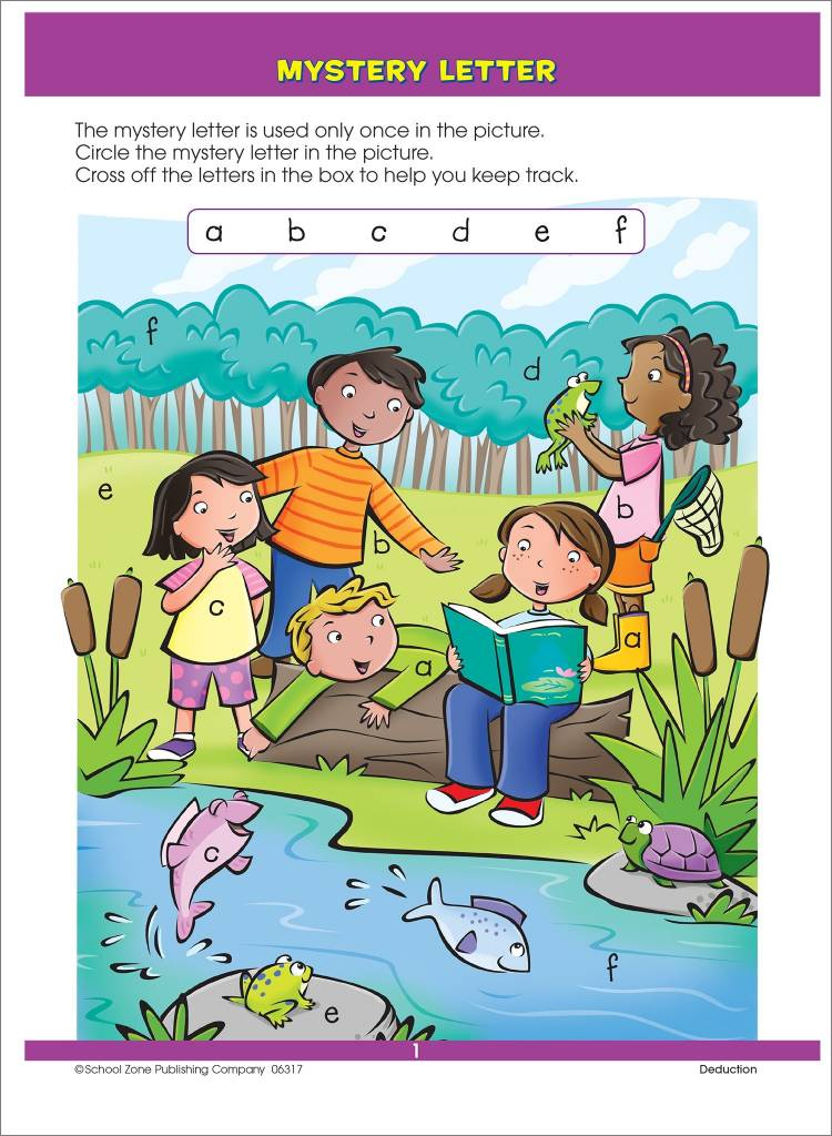 School Zone Publishing Company Big First Grade