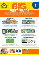 School Zone Publishing Company Big First Grade