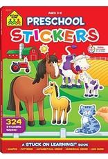 School Zone Publishing Company Preschool Sticker Books