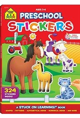 School Zone Publishing Company Math Sticker Books
