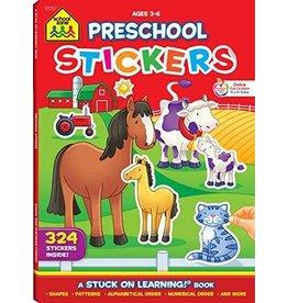 School Zone Publishing Company Math Sticker Books