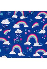 Stephen Joseph All Over Print Nap Bag - Rainbow