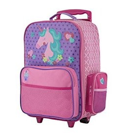 Stephen Joseph Classic Rolling Luggage - Unicorn