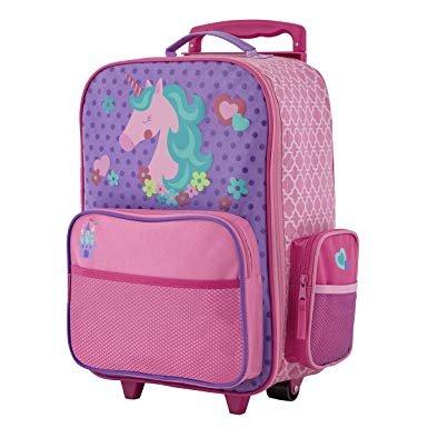 Stephen Joseph Classic Rolling Luggage - Unicorn