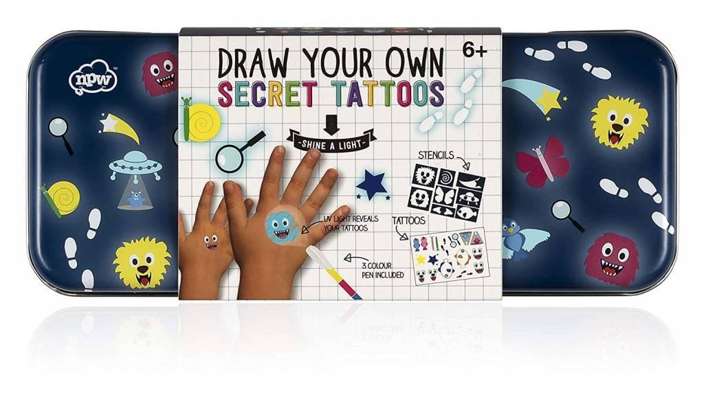 NPW Draw Your Own Secret Tattoos