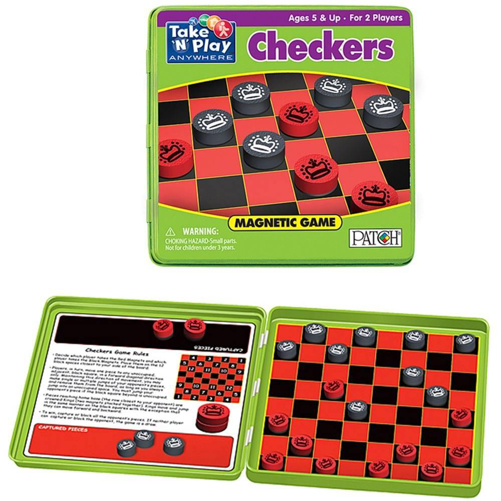 PlayMonster Take 'n' Play Checkers