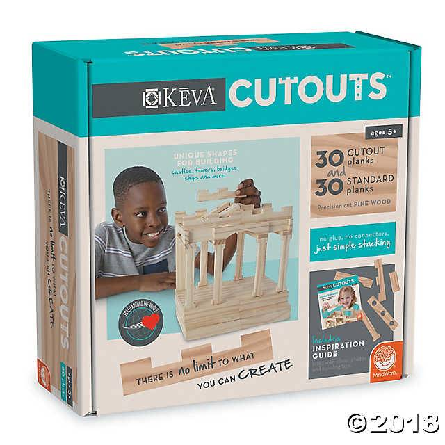 Keva Keva Cutouts