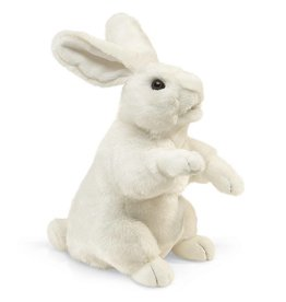 Folkmanis Standing White Rabbit Puppet (2868)