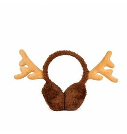 Red Nose Reindeer Ear Muffs