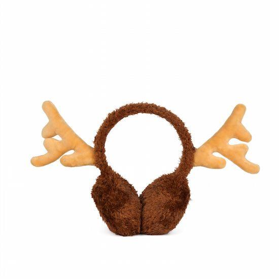 Red Nose Reindeer Ear Muffs