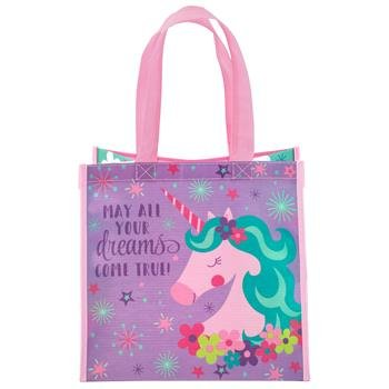 Stephen Joseph Recycled Gift Bag Unicorn