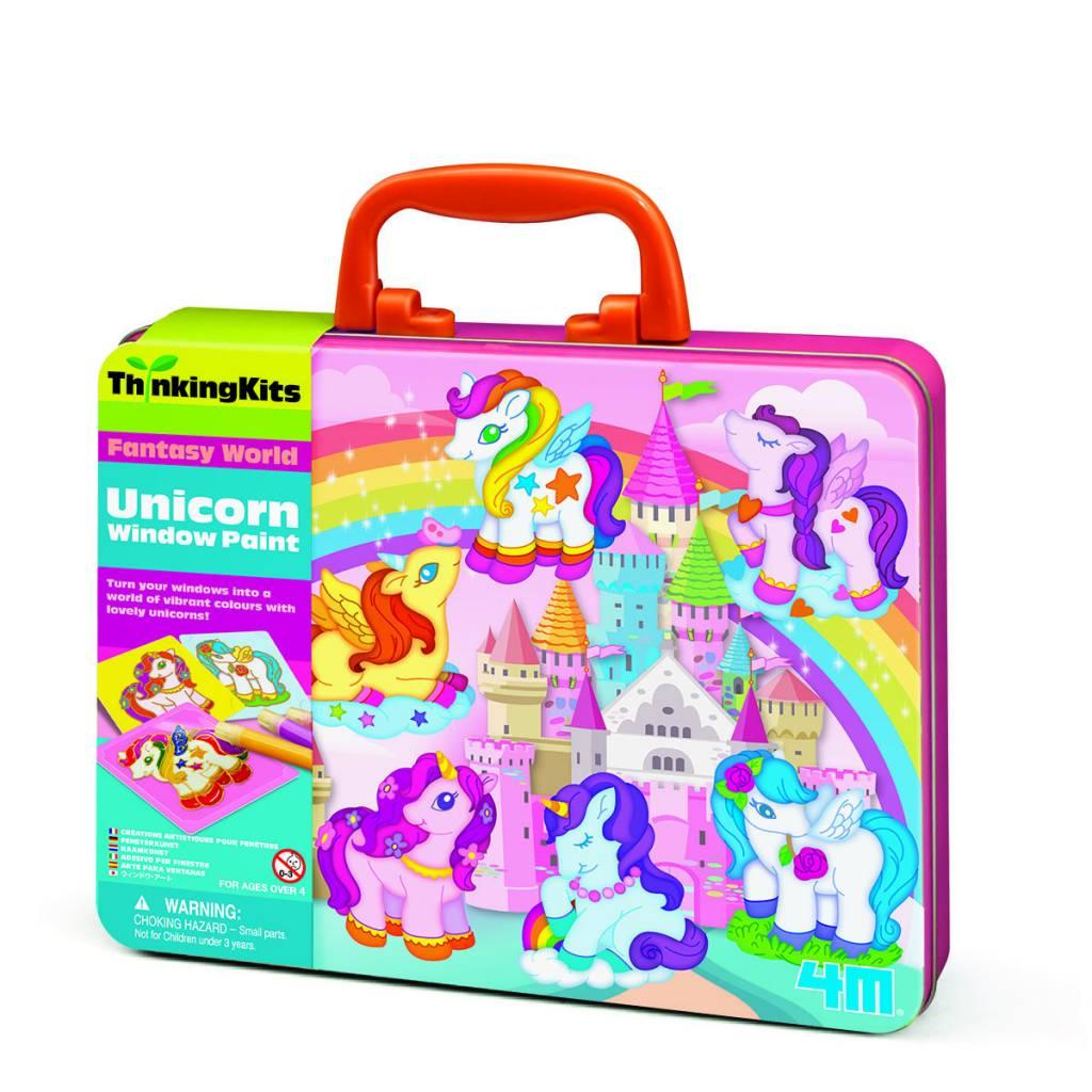 4M Unicorn Window Paints- Thinking Kits
