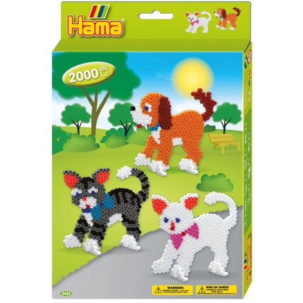 Hama Dogs and Cats - Midi Hanging Box