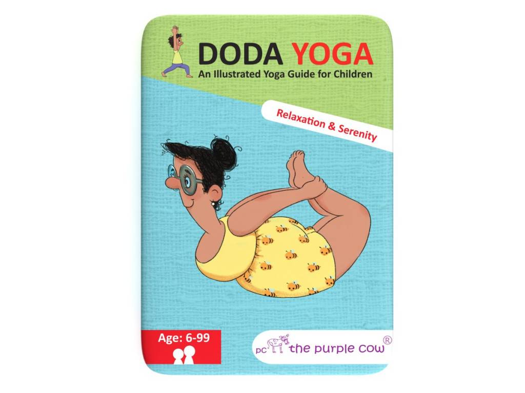 The Purple Cow Doda Yoga- Relaxation and Serenity