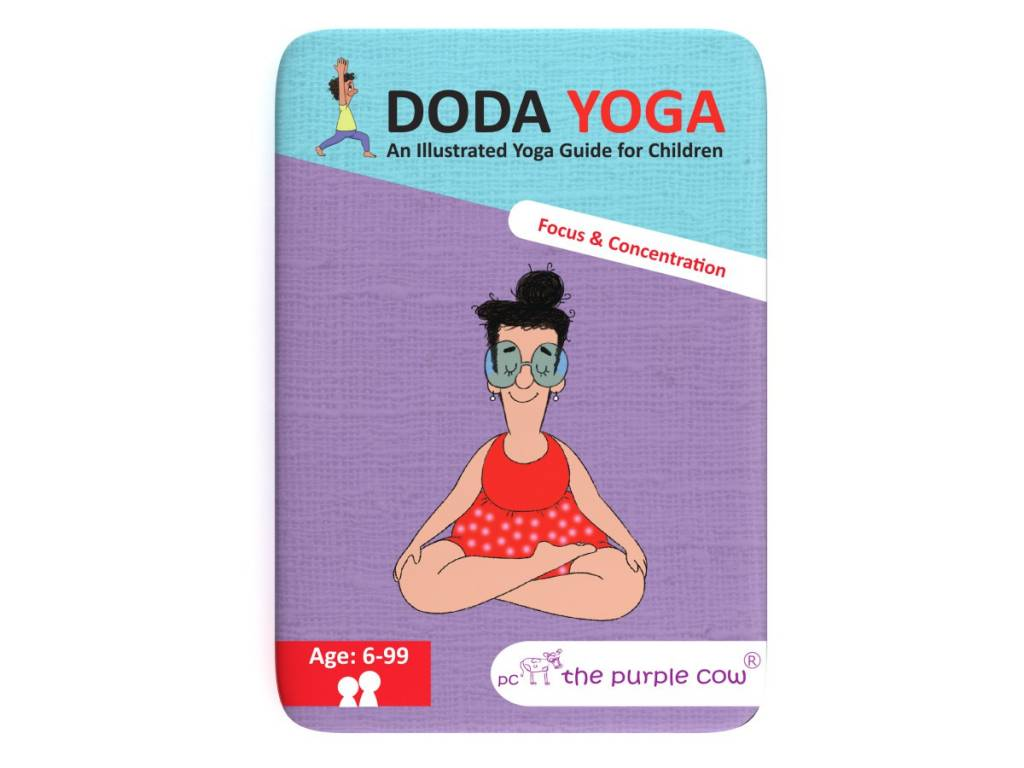 The Purple Cow Doda Yoga- Focus and Concentration
