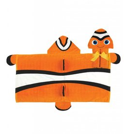 Stephen Joseph Hooded Towel Clown Fish