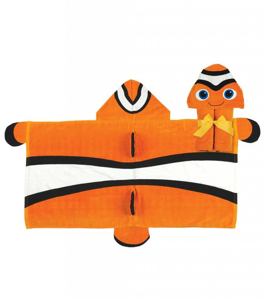 Stephen Joseph Hooded Towel Clown Fish