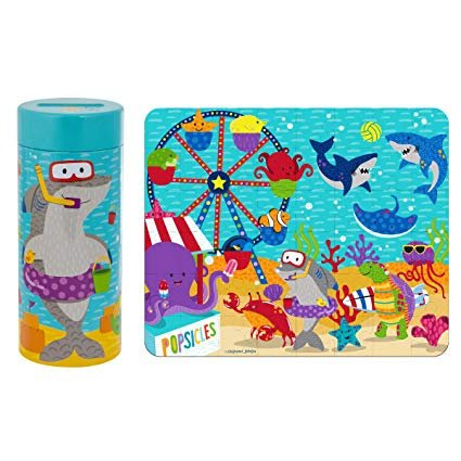 Stephen Joseph Tin Bank Puzzel Sea Carnival