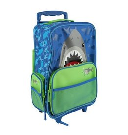 Stephen Joseph Classic Rolling Luggage Shark