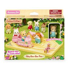 Calico Critters Choo Choo Train Set