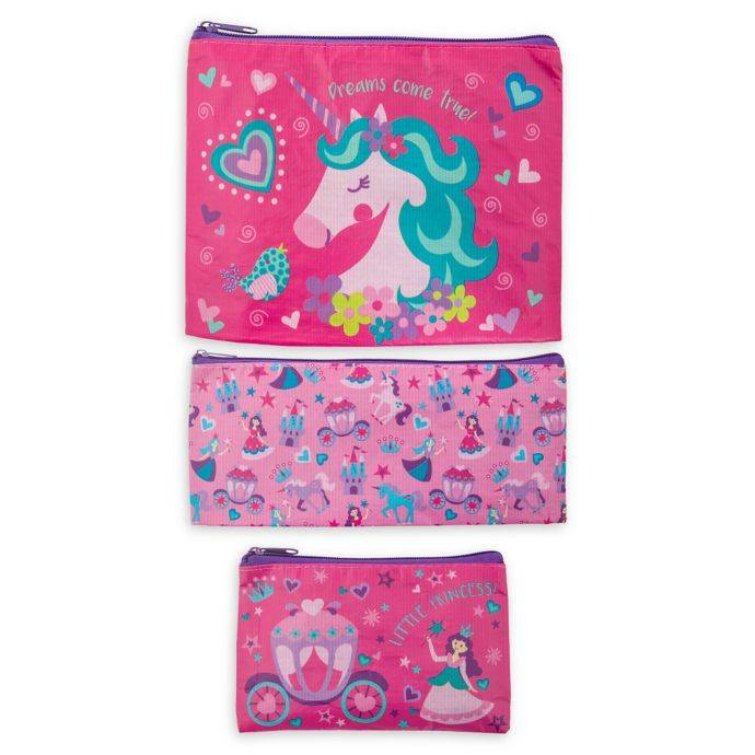 Stephen Joseph Recycled Bag Set Unicorn