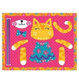 Stephen Joseph Lacing Puzzle Cat