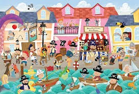 Cobble Hill A Pirate's Life Tray Puzzle