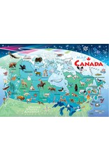 Cobble Hill Canada Map Tray Puzzle