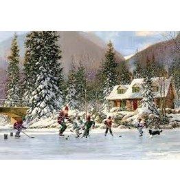 Cobble Hill Hockey Pond Tray Puzzle