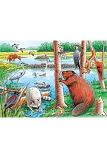Cobble Hill The Beaver Pond Tray Puzzle