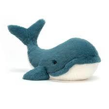 Jellycat Medium Wally Whale