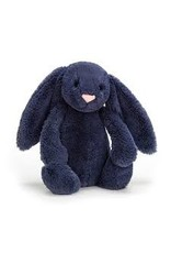 Jellycat Medium Navy Bashful Bunny