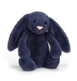 Jellycat Medium Navy Bashful Bunny