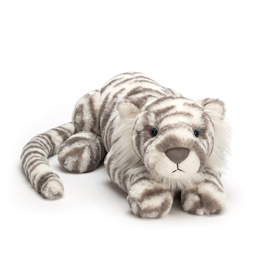 Jellycat Little Sacha Snow Tiger