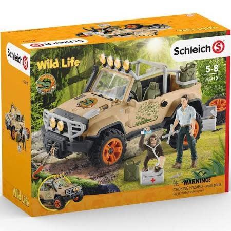 Schleich Off-Roader with Rope Winch