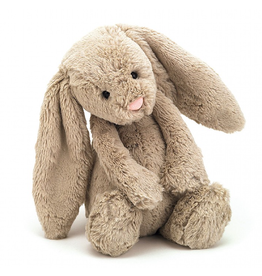 Jellycat Medium Beige Bashful Bunny