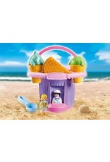 Playmobil Ice Cream Shop Sand Bucket