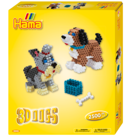 Hama Dogs - 3D Dogs Gift Box