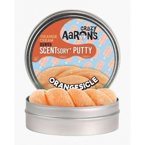 Crazy Aaron's Thinking Putty Orangesicle Putty