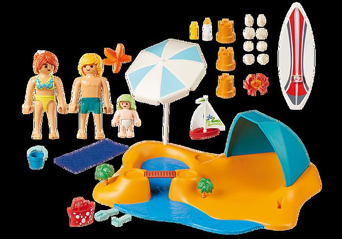 Playmobil Family Beach Day