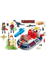Playmobil Action Dino Hovercraft with Motor