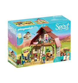 Playmobil Spirit Barn with Lucky, Pru and Abigail