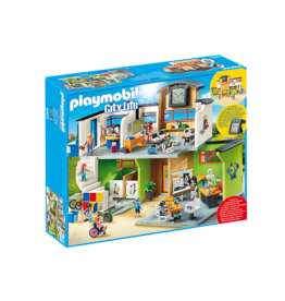 Playmobil Furnished School Building
