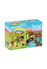 Playmobil Spirit Señor Carrots with Horse Stall