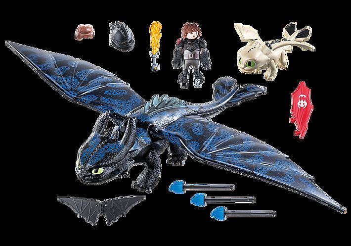 Playmobil Train Dragon Hiccup Toothless – Fondos de Pantalla