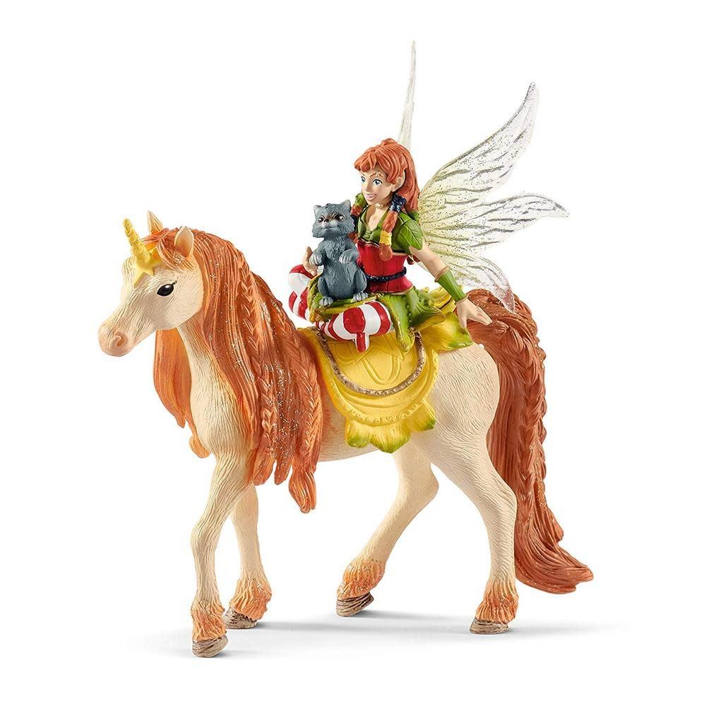 Schleich Bayala - Fairy Marween w/Glitter Unicorn 70567