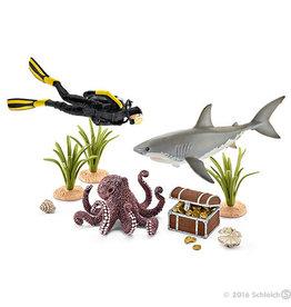 Schleich Treasure Hunt Diver
